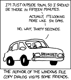 xkcd estimation