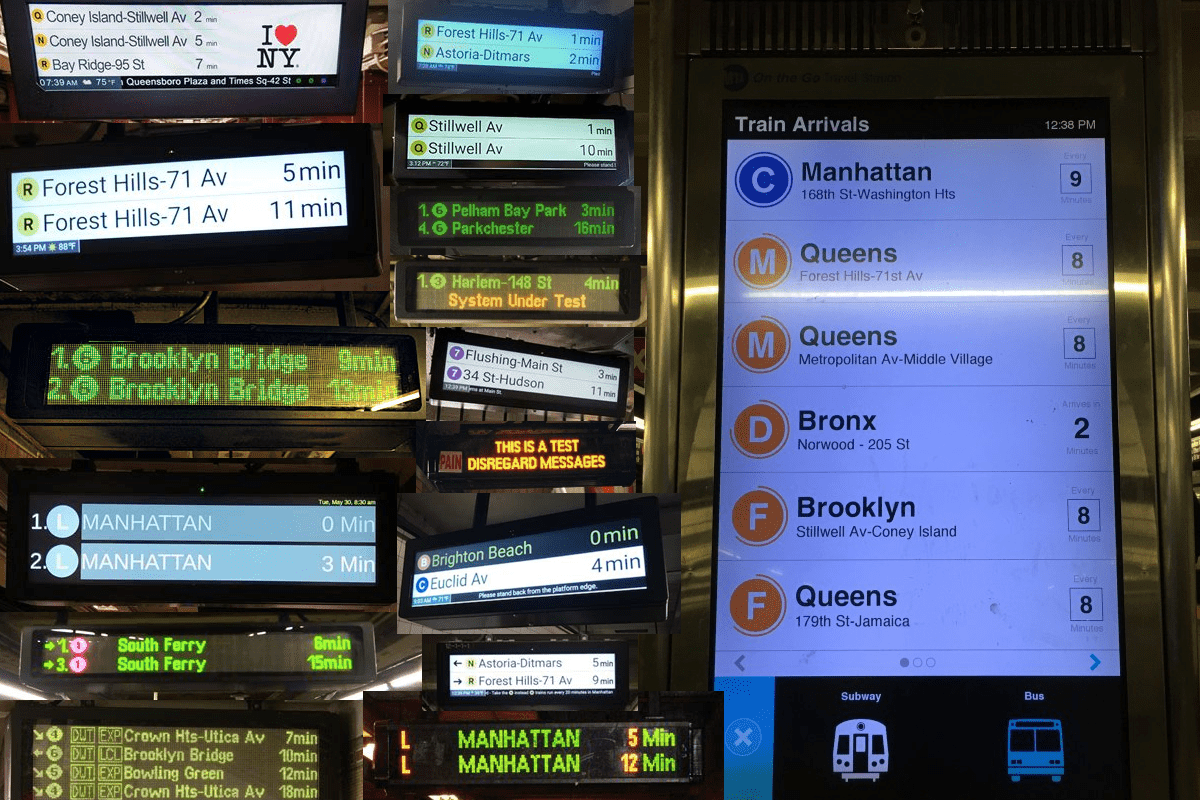 nyc subway countdown clocks
